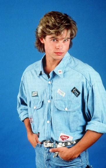 """20 известни личности като тинейджъри - Magazine.bg (2) Уилям Брадли """"Брад"""" Пит e американски актьор и продуцент."""