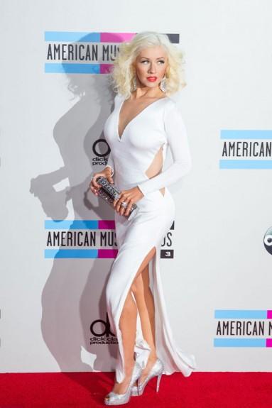 Кристина отново във форма на Американските музикални награди