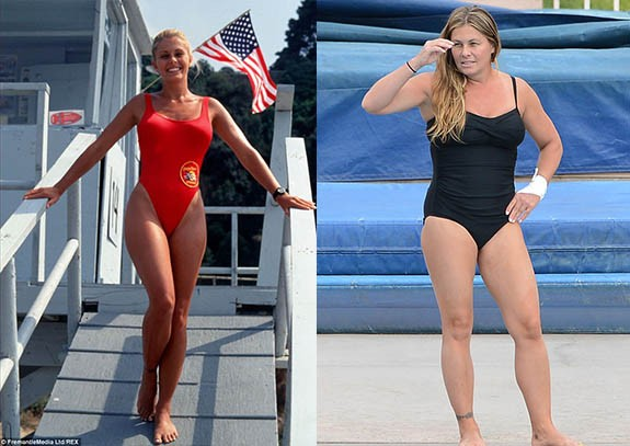 """Nicole Eggert Как изглеждат """"Спасители на плажа"""" през 2015"""