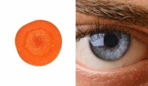 морков - око