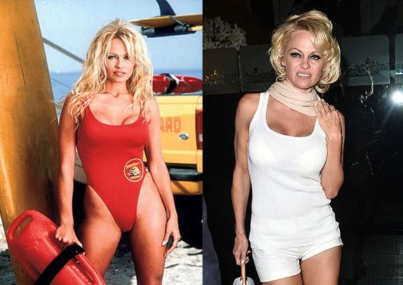 """Pamela Anderson Как изглеждат """"Спасители на плажа"""" през 2015"""