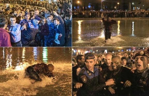 Полиция прекратява концерт на Кание Уест. Причината - Кание е скочил в езеро! (видео) - Magazine (4)