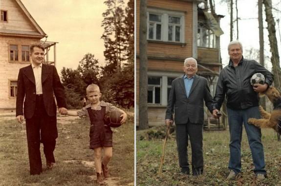 Баща и син (1949г. и 2009г.)